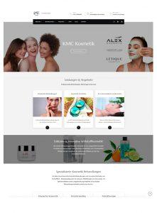 Webdesign Angebote von Pixel-Puls - Referenz KMC Kosmetik Neu-Isenburg