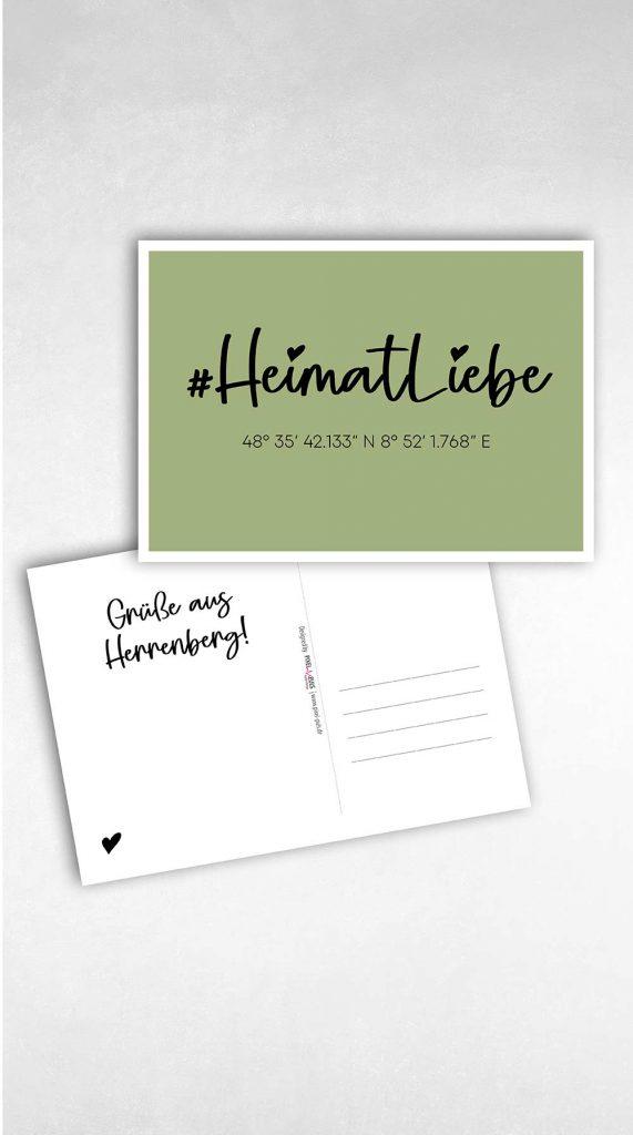 Postkarte versenden aus Herrenberg