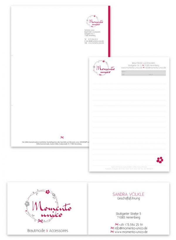 Grafikdesign-Geschäftsausstattung-momento-unico