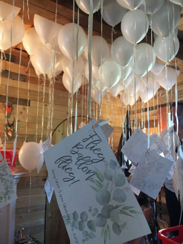 Hochzeitspapeterie Ballonkarten Pixel-Puls