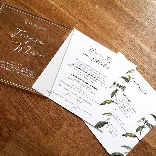 Hochzeitsmarketing von Pixel-Puls hier Hochzeitseinladung