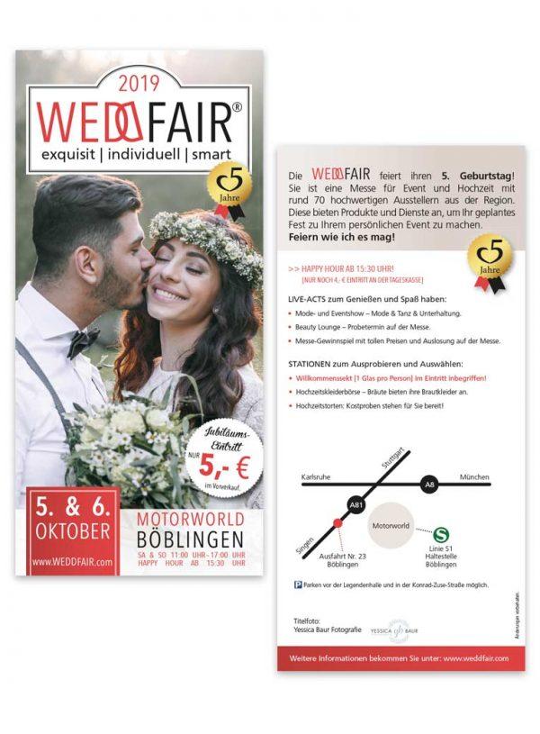 Printmedien-Flyer-für-Messe-Weddfair-Böblingen
